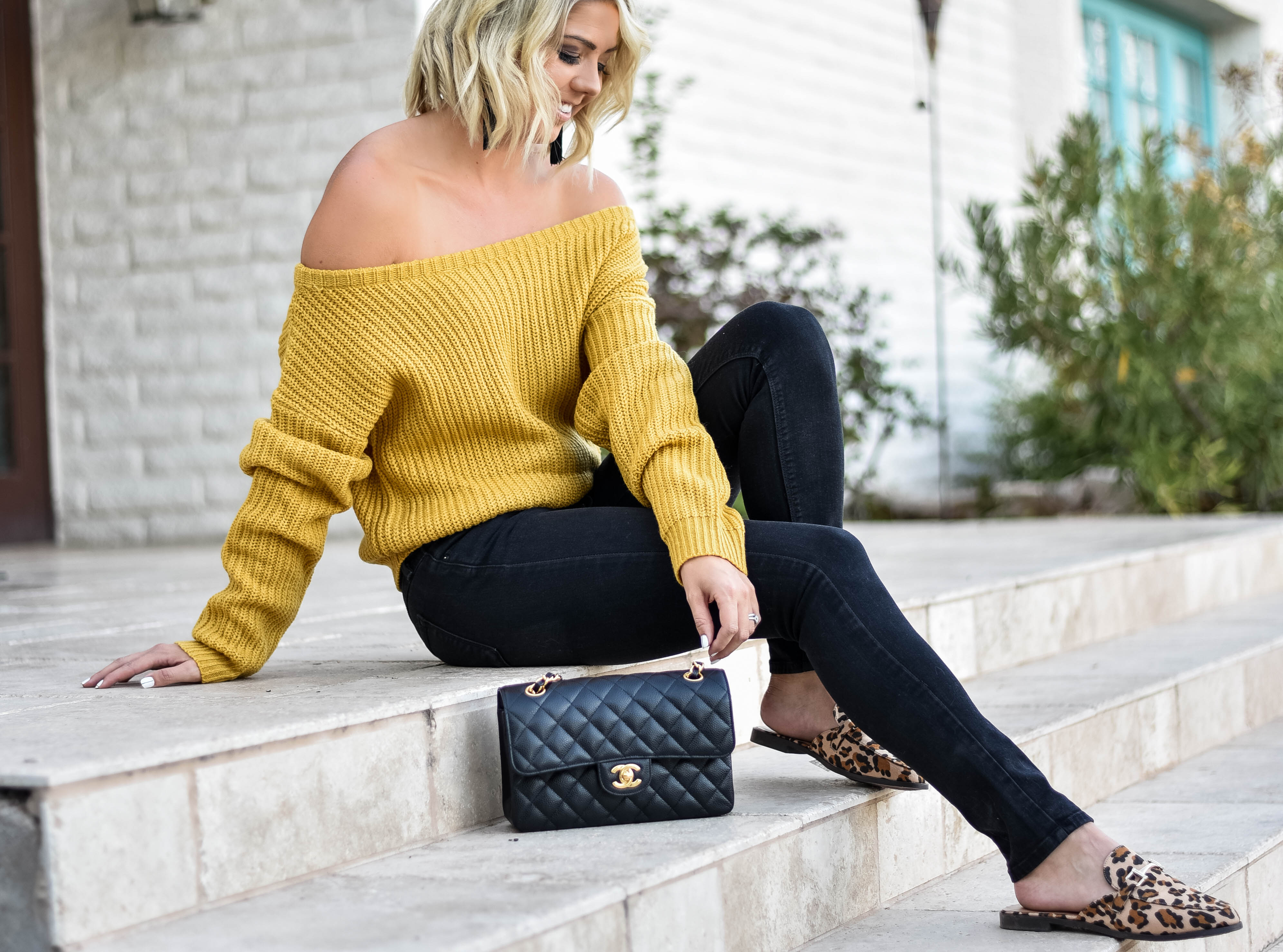 Mustard, OTS, and Leopard + Huge 50% Off Sale graphic