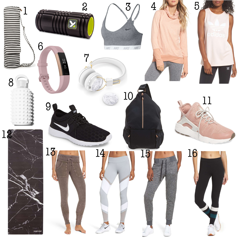 Fitness Lover Gift Guide graphic