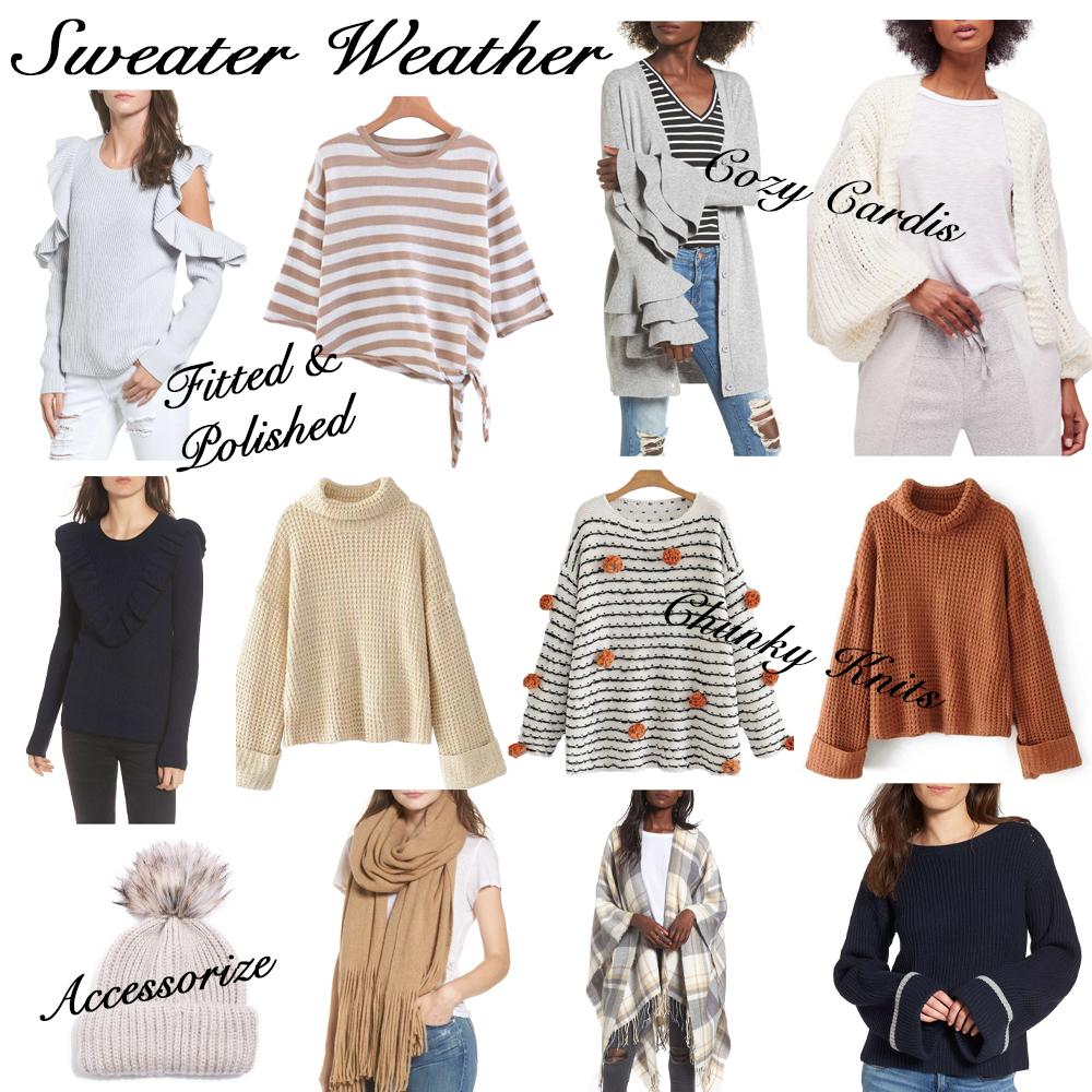 Sweater Weather: Current Picks Under $100 graphic