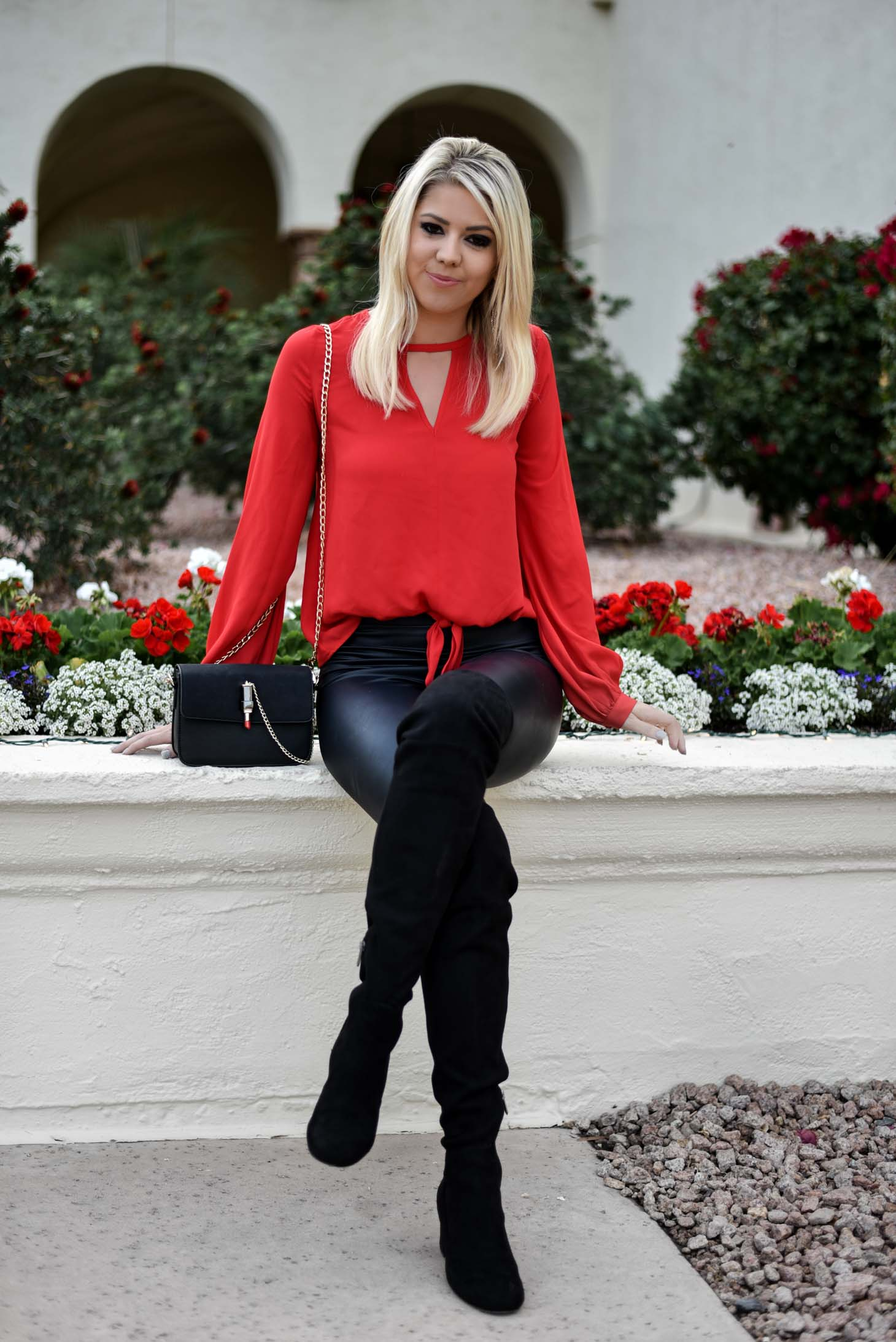 Erin Elizabeth of Wink and A Twirl in Holiday Style