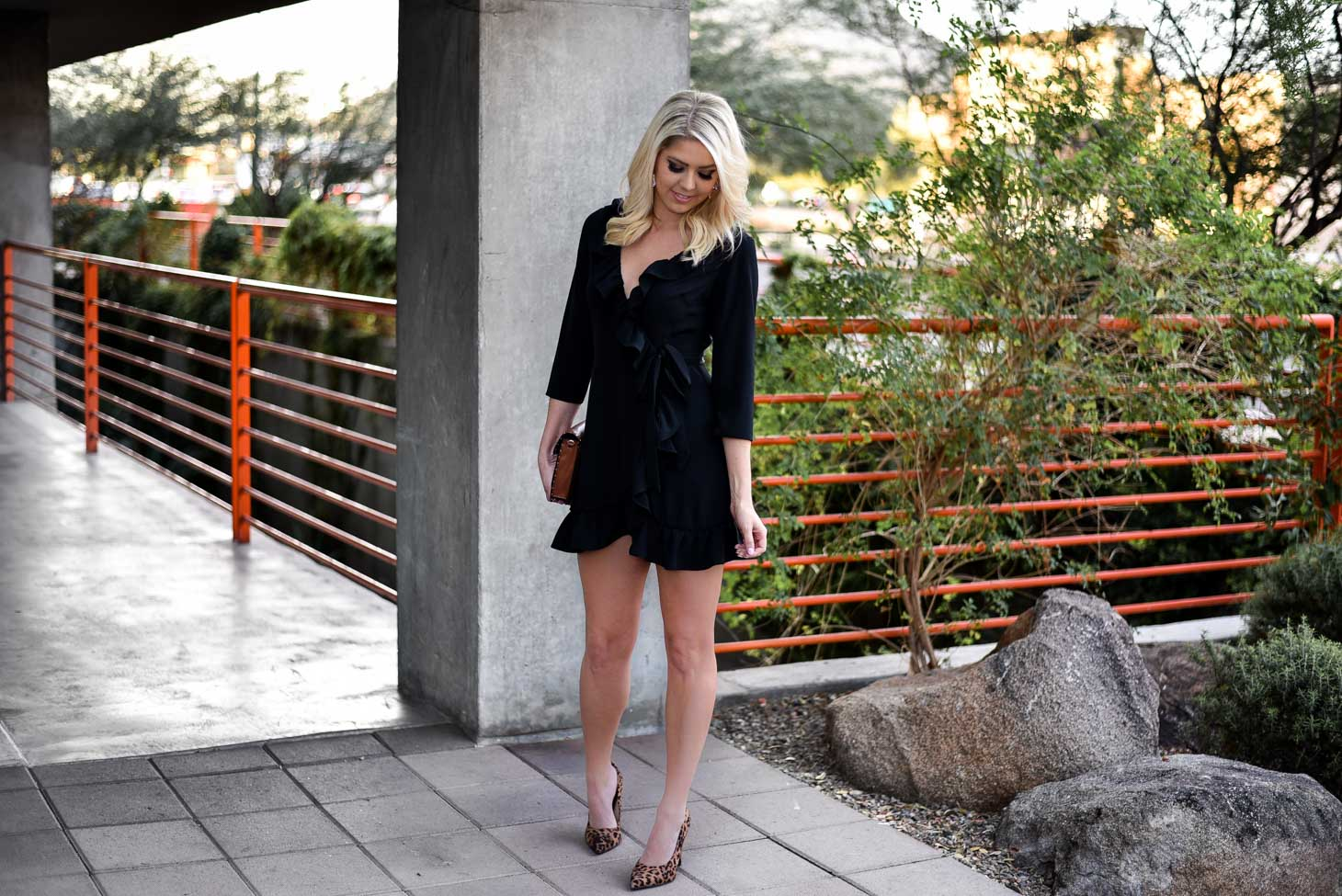 The Wrap LBD graphic