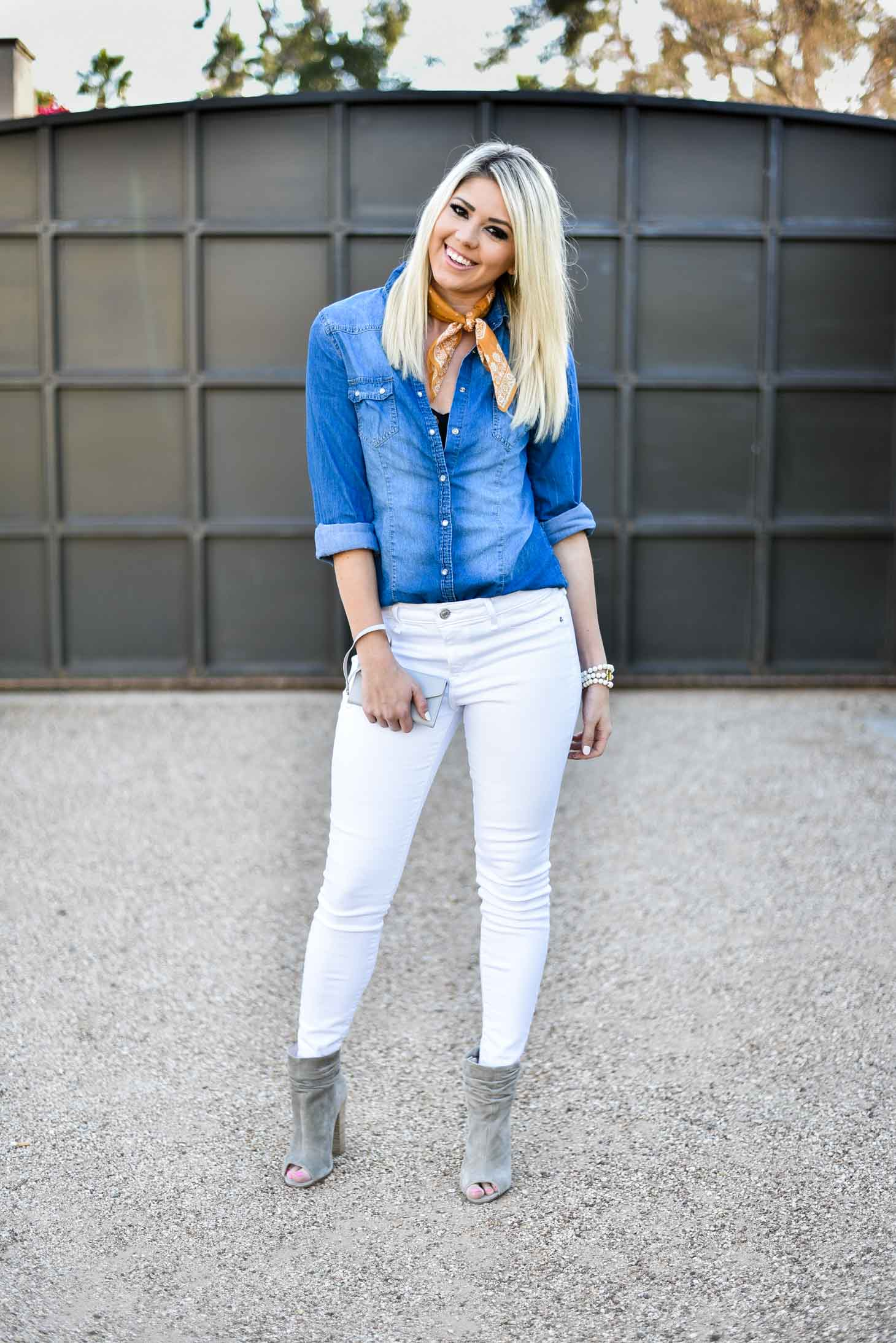 Erin Elizabeth of Wink and a Twirl Spring Style