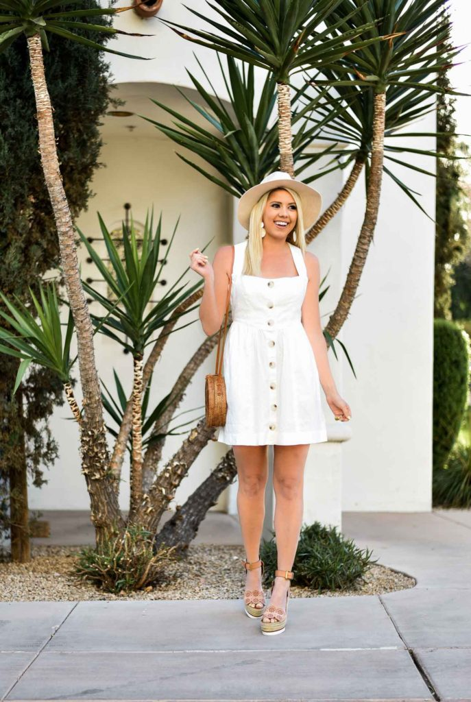 The Perfect Neutral Dress Under $100 graphic