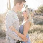Erin Elizabeth of Wink and a Twirl and Hubby Photoshoot with Megan Lee of Megan Lee Photography in Arizona Desert Photoshoot