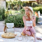 Erin Elizabeth of Wink and a Twirl shares information about the Blush International Rosé Festival in Old Town Scottsdale at the Clayton House