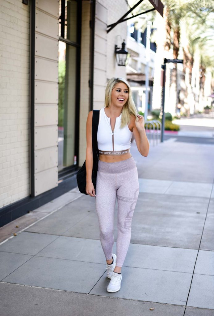 Workout Confidence with Aim'n Sportswear graphic