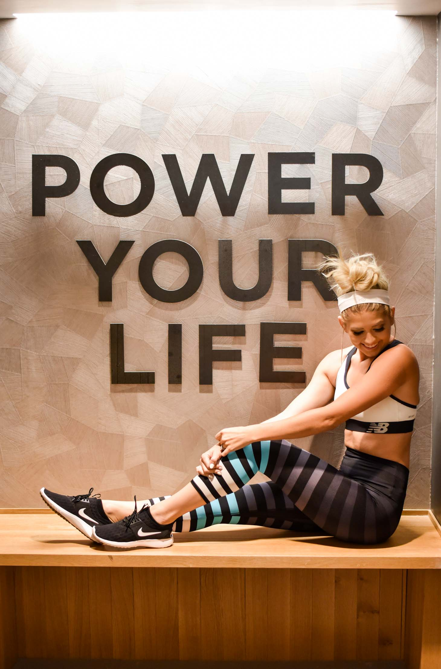 Erin Elizabeth of Wink and a Twirl shares an update on her Flywheel Spin Class at Scottsdale Quarter in Scottsdale Arizona