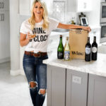 Erin Elizabeth of Wink and a Twirl shares a Wine Club box called Winc with personalized wine selections