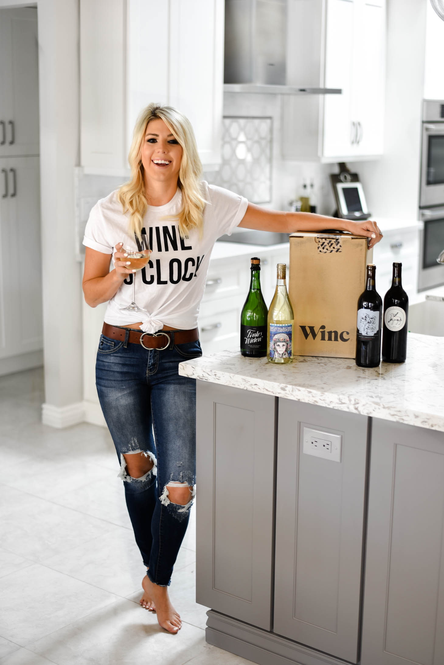 Wine o'Clock With Winc graphic