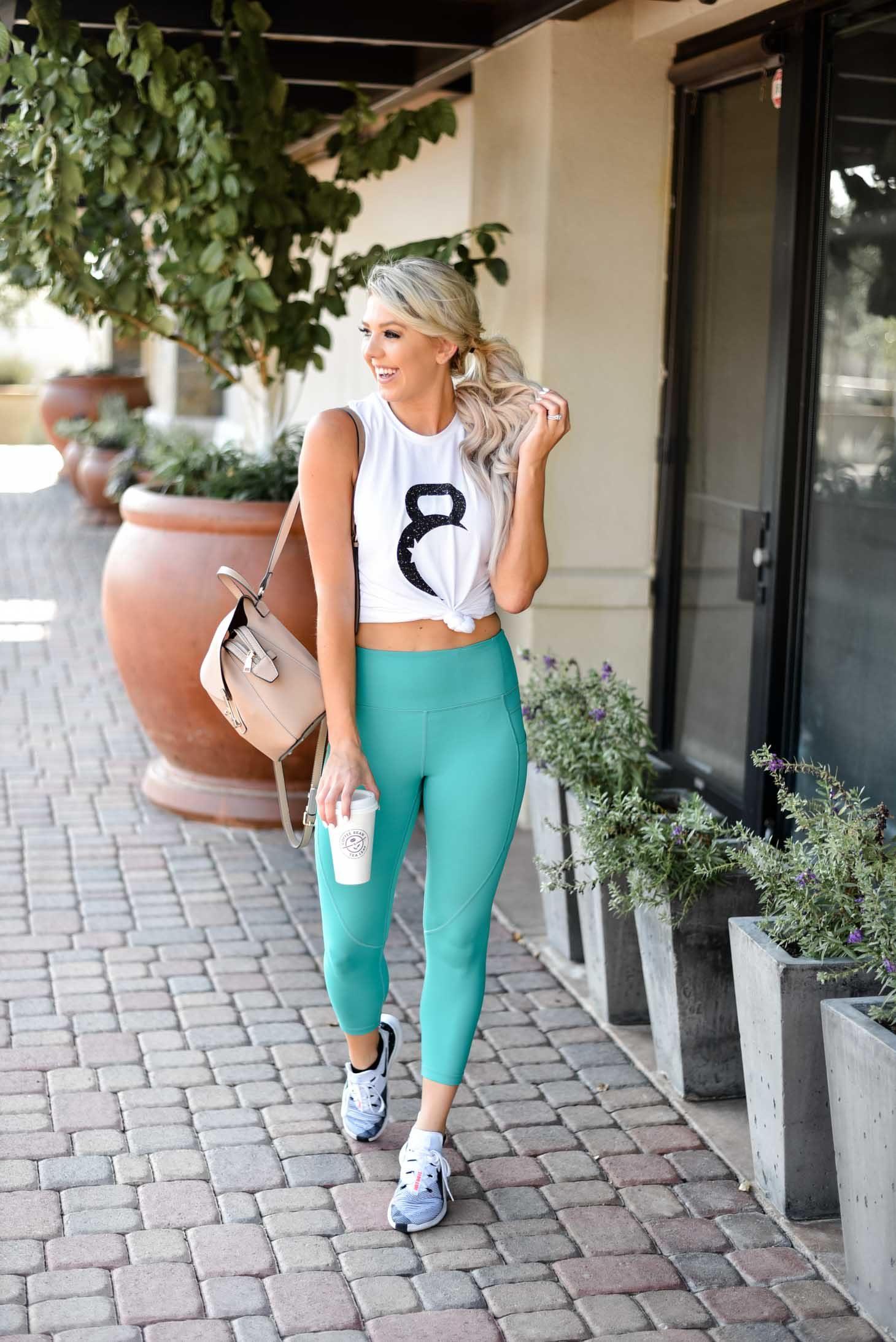 Erin Elizabeth of Wink and a Twirl shares the cutest new workout look from Zyia Fitness