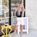 Erin Elizabeth of Wink and a Twirl shares the Drybar's latest product: the Hot Toddy Heat Protectant Mist
