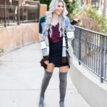 Erin Elizabeth of Wink and a Twirl shares a fun fall style from Goodnight Macaroon