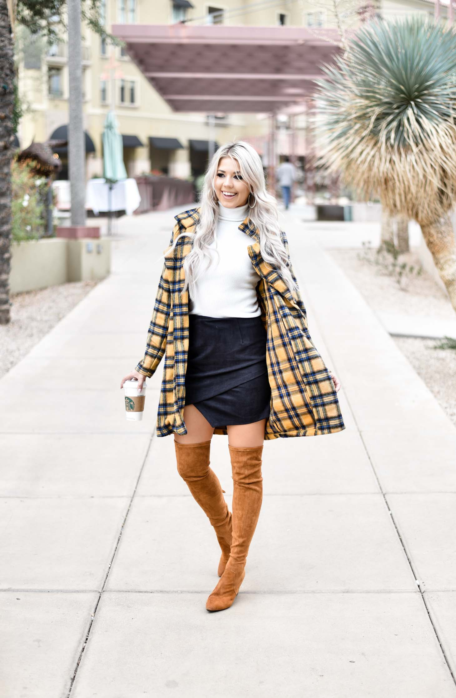 The Plaid Coat You Need For Under $40 graphic
