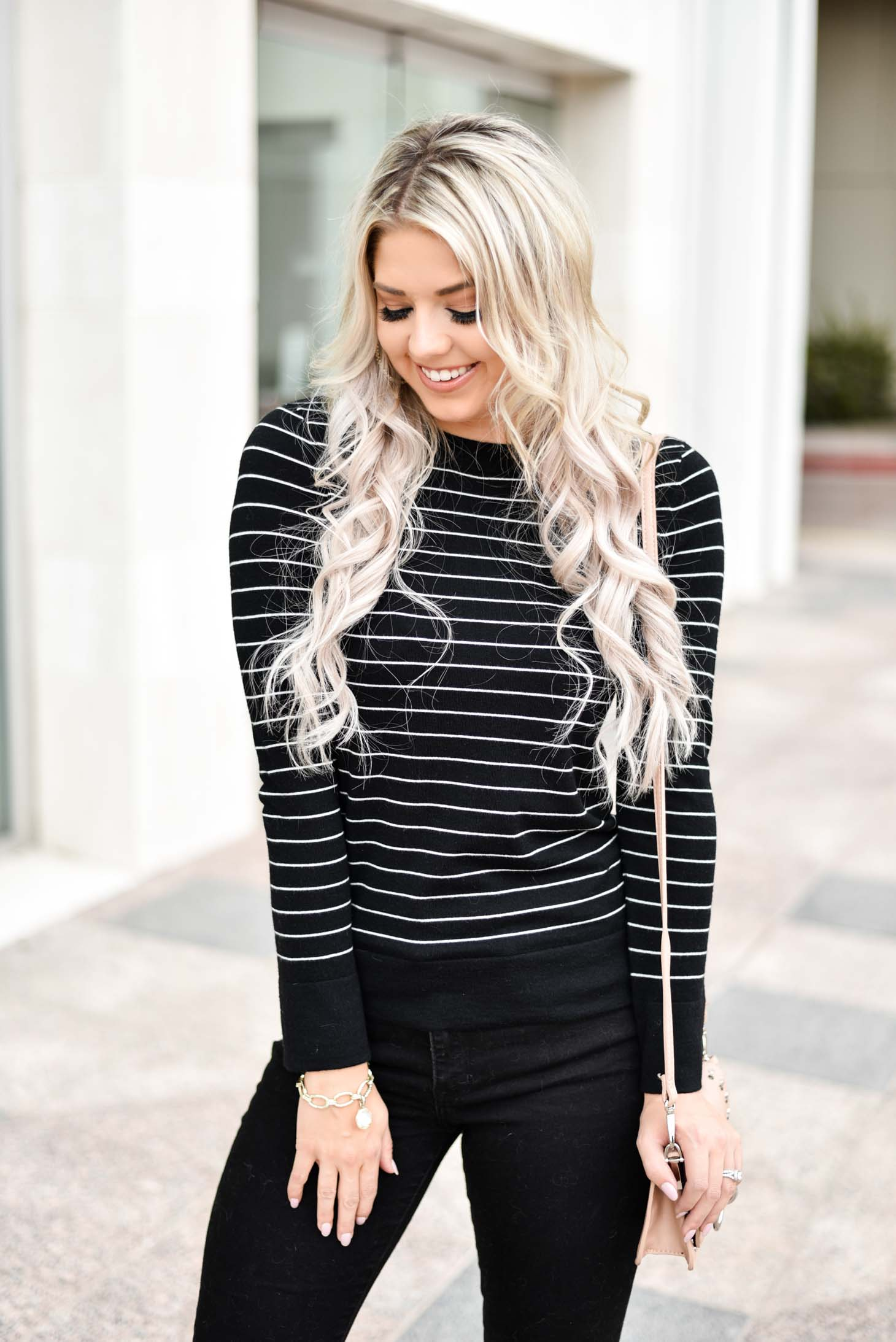 Erin Elizabeth of Wink and a Twirl shares two classic sweaters from J.Ing Official