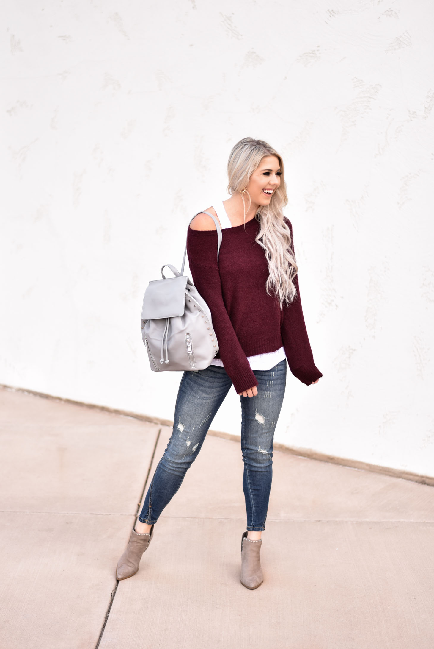 Casual Fall Style with Vici Dolls graphic