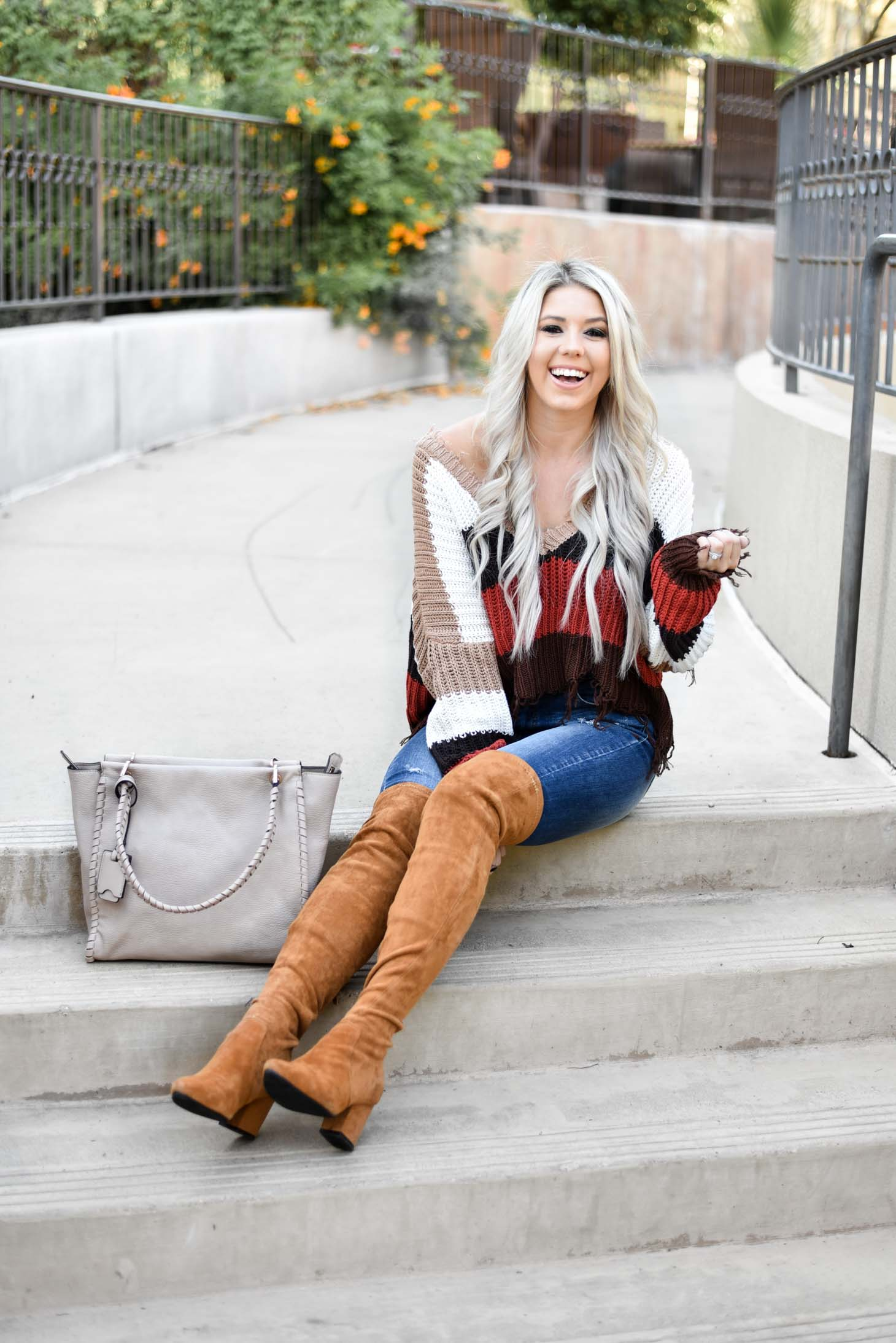 Crushing On Multi-Colored Sweaters graphic