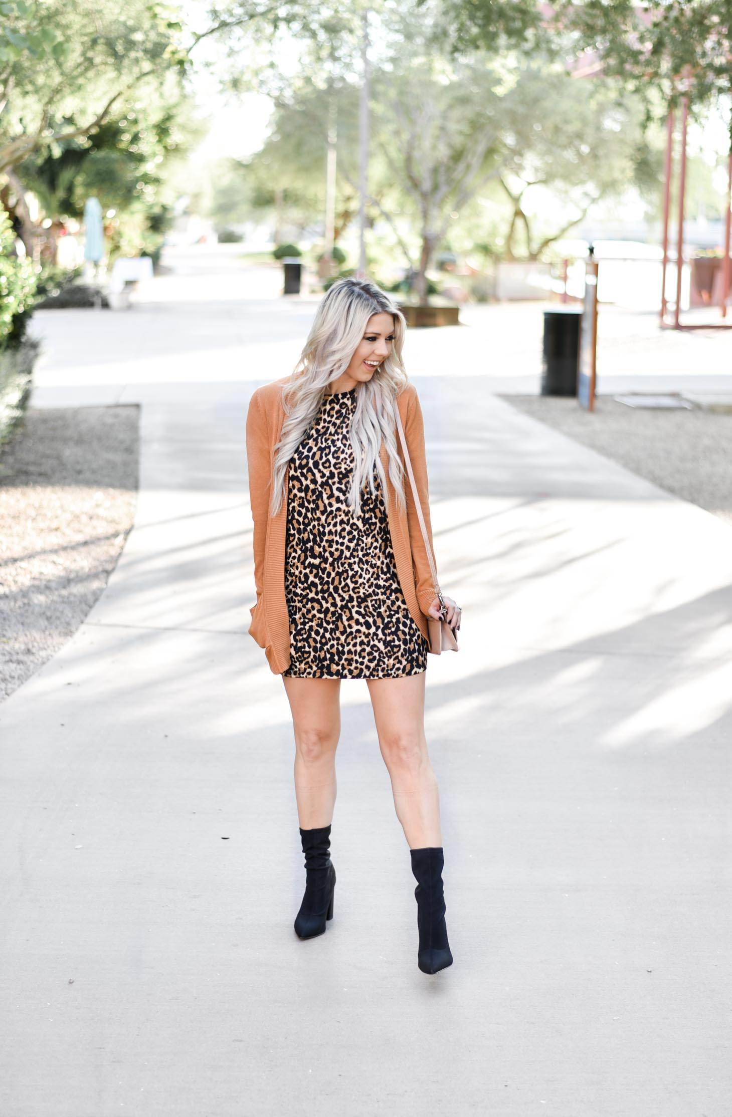 Leopard Prints and Cardigan Dreams graphic