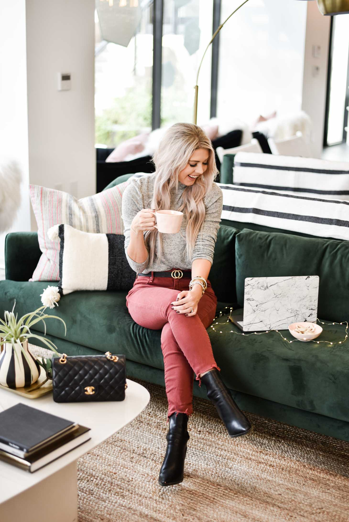 Erin Elizabeth of Wink and a Twirl shares Cyber Week Sales from her local women's workspace The Emerald in Scottsdale, Arizona