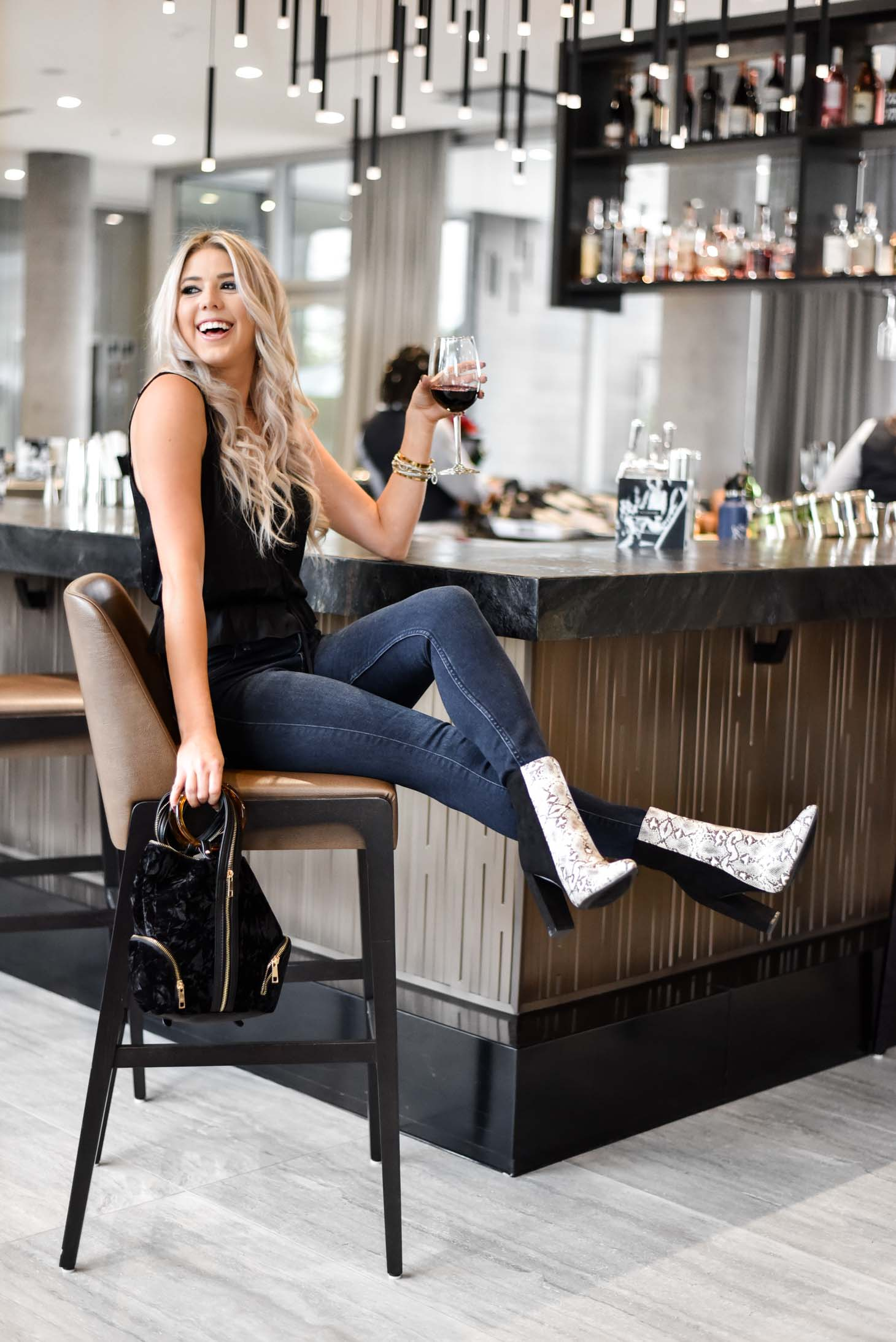Erin Elizabeth of Wink and a Twirl share the cutest look for a night out from Lulus