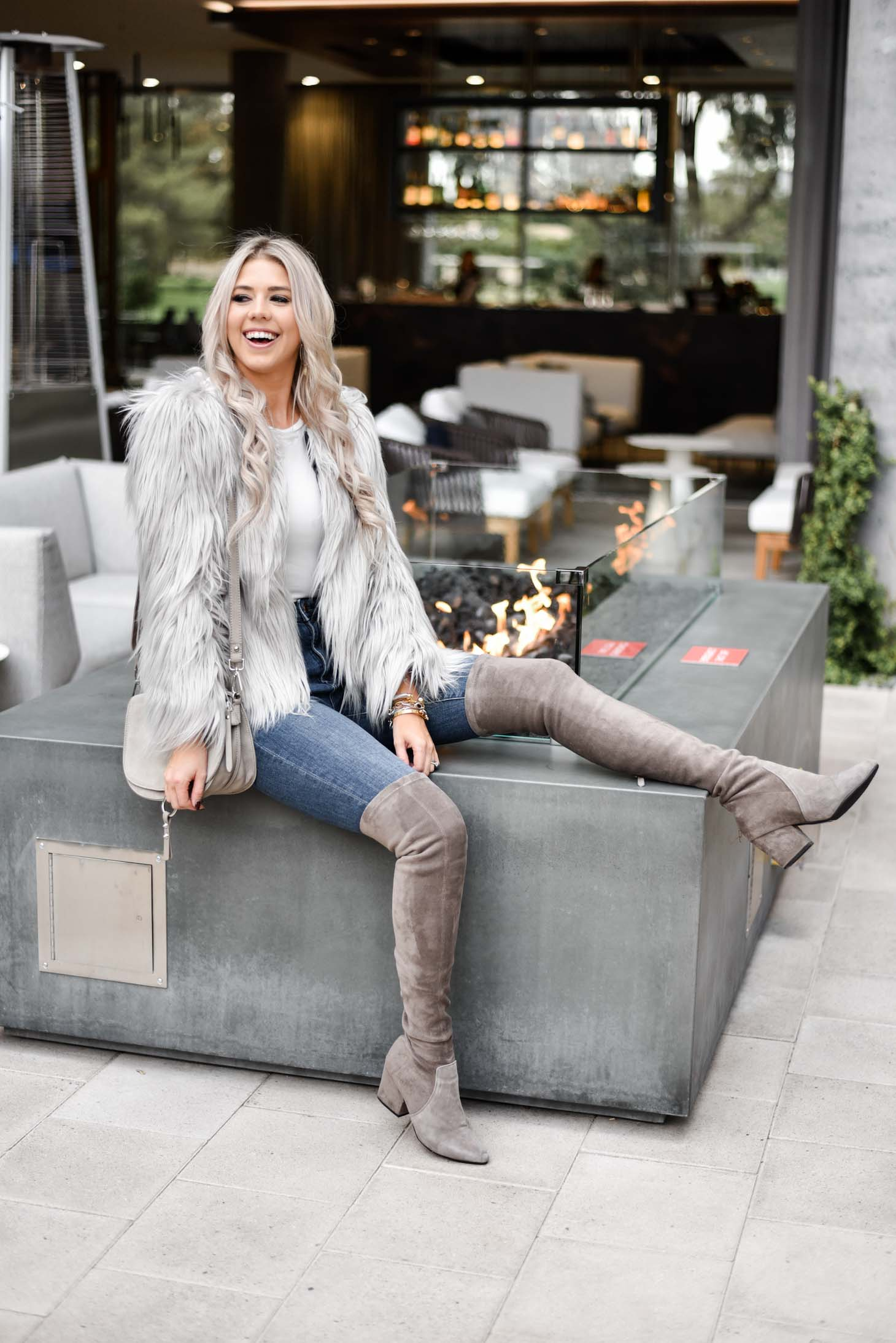 The Faux Fur Coat Under $50 graphic