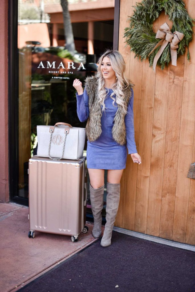 Erin Elizabeth of Wink and a Twirl recaps her trip to the Amara Resort and Spa in Sedona, Arizona