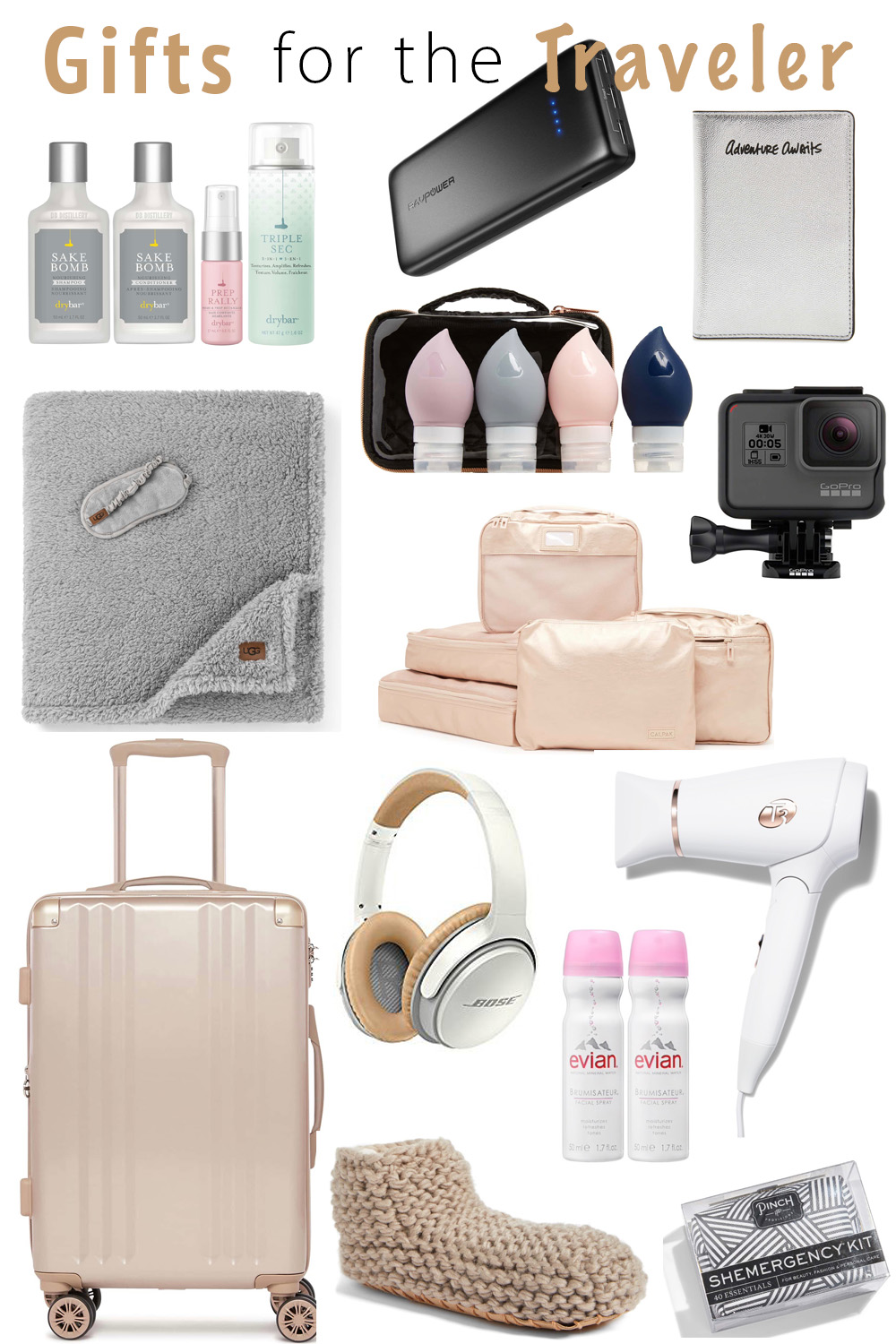 Erin Elizabeth of Wink and a Twirl shares the perfect gifts for the traveler in her Gift Guide for the Traveler