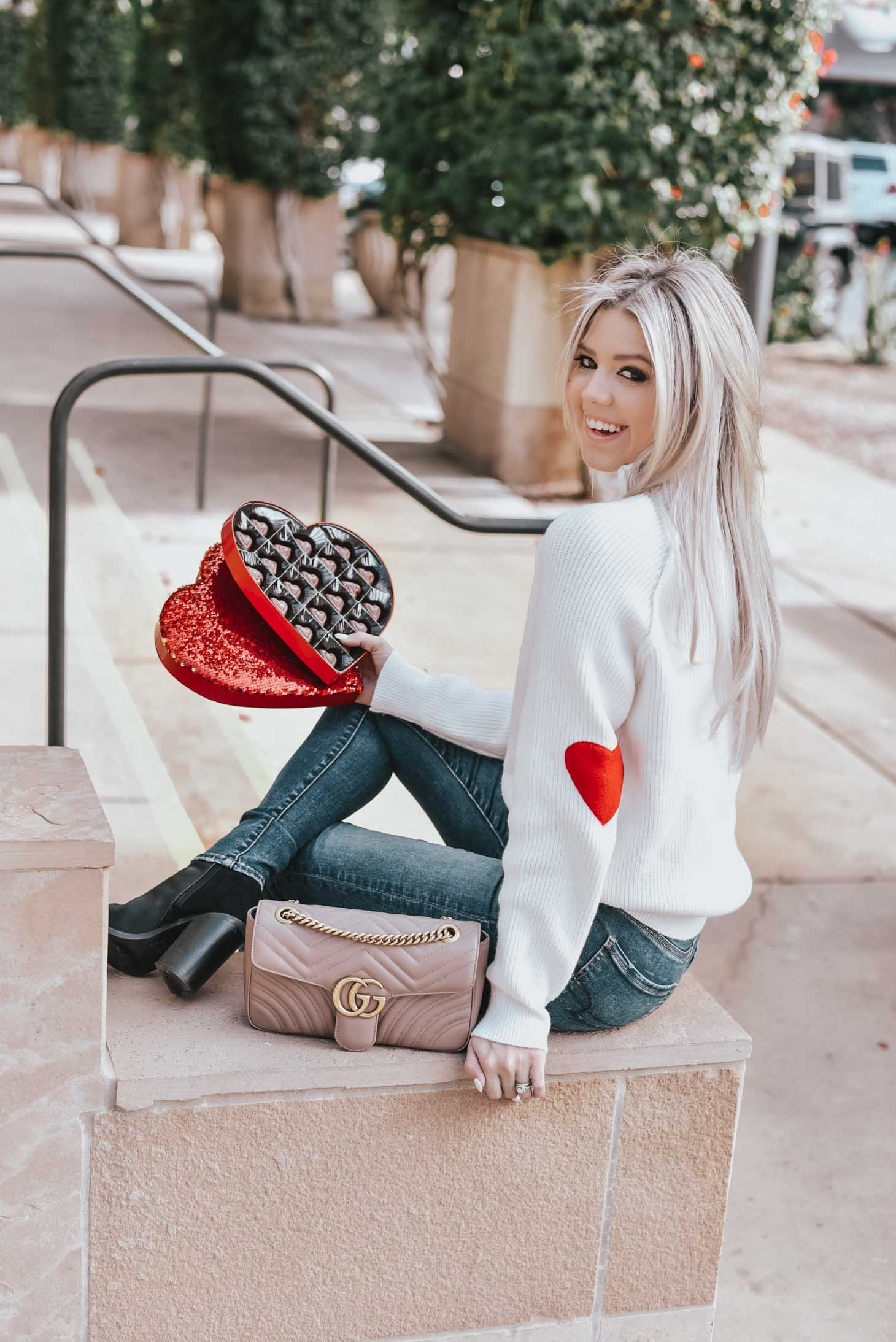 The Cutest Sweaters For Valentine's Day graphic