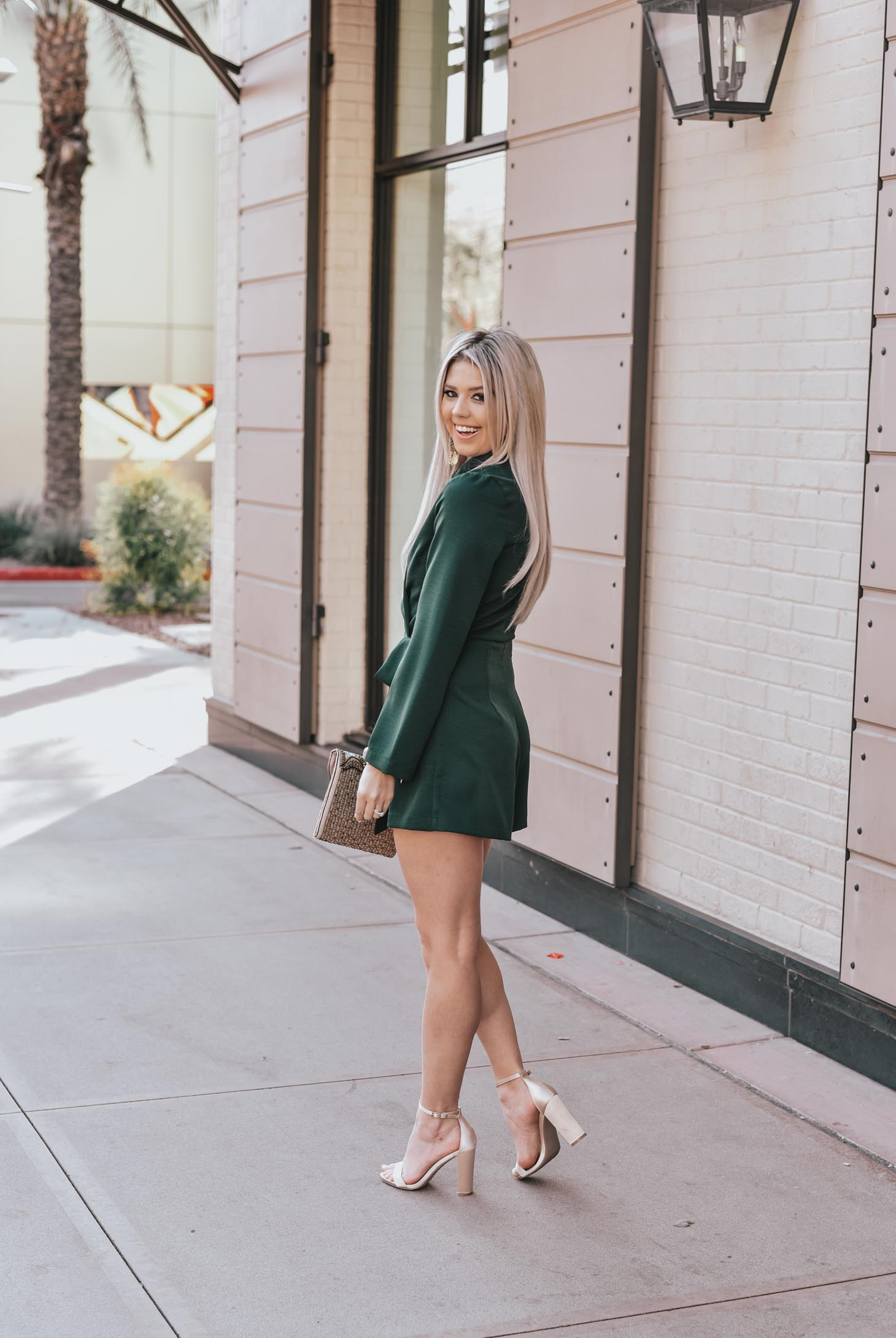 The Blazer Romper graphic