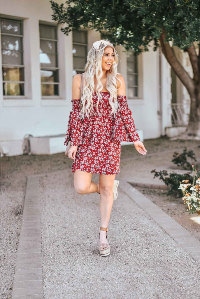Erin Elizabeth of Wink and a Twirl shares the perfect little spring dress you need from Amazon
