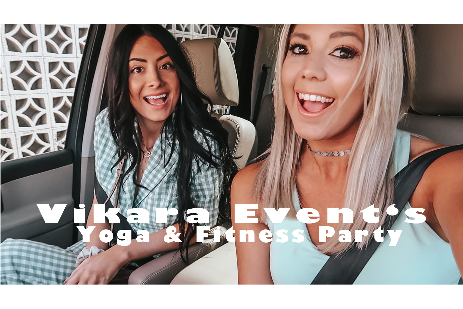 YouTube: Vikara Event's Yoga & Fitness Party graphic