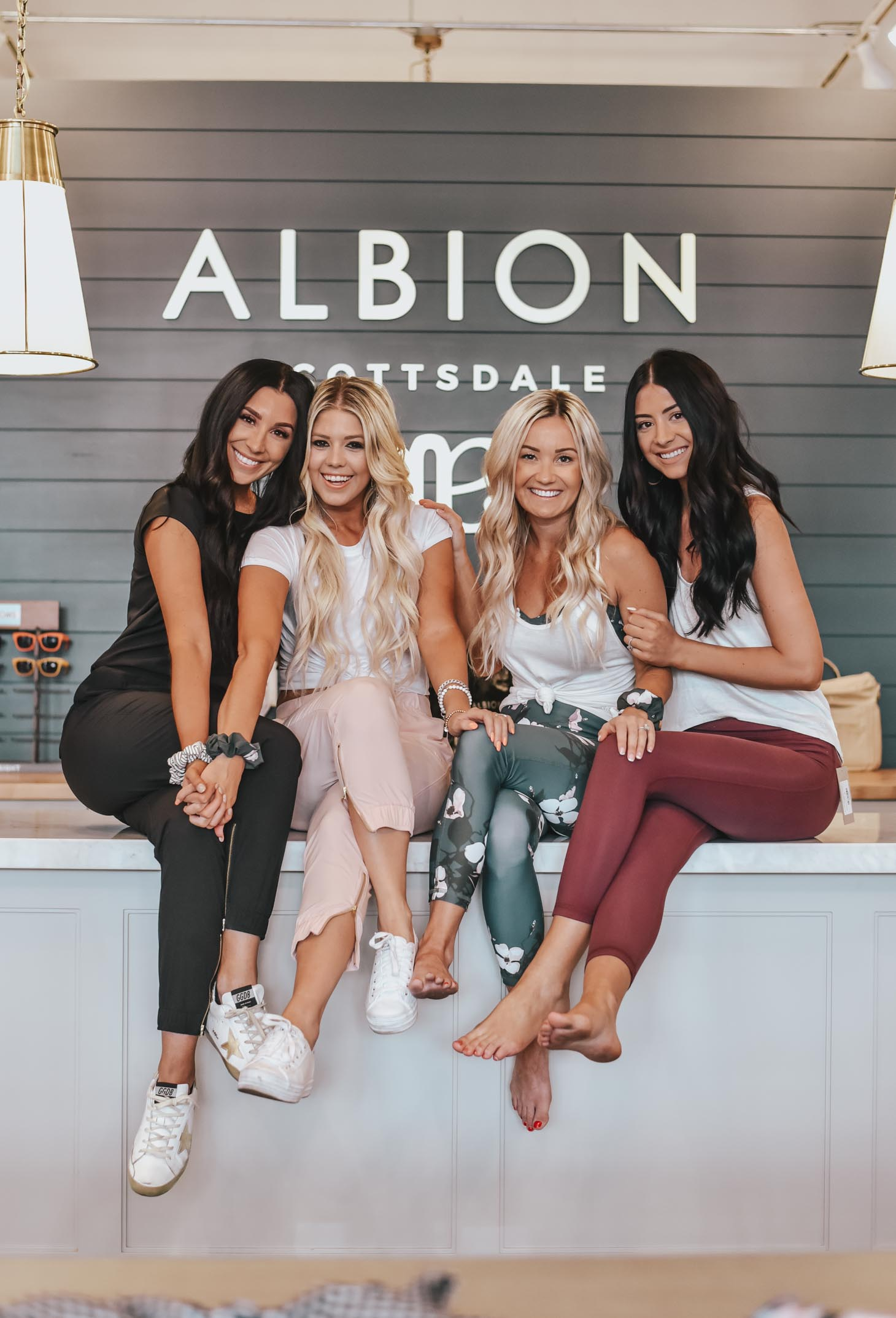 Albion Fit Athleisure graphic