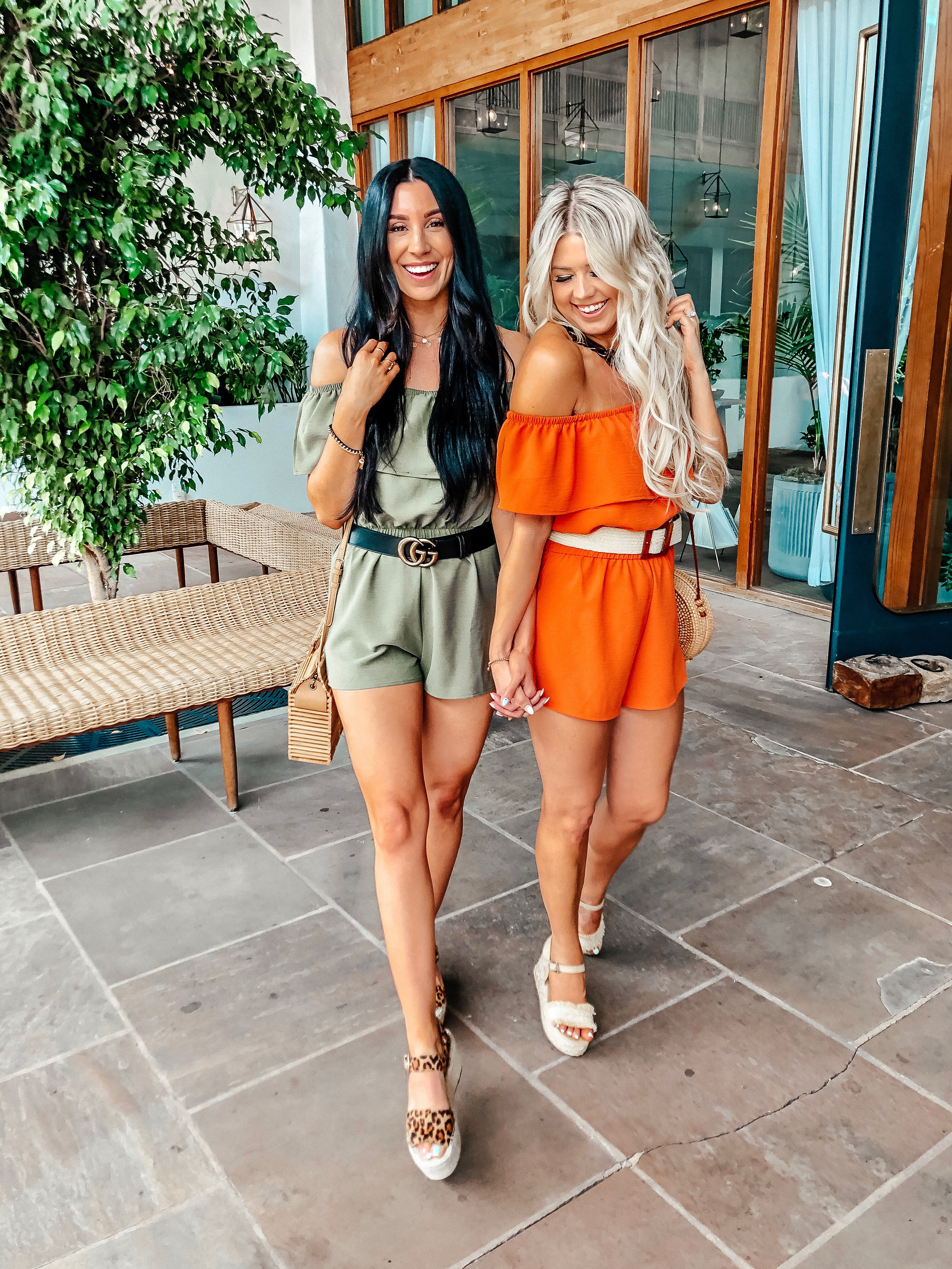 Bestie Rompers graphic